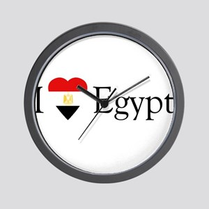 I Love Egypt Wall Clock