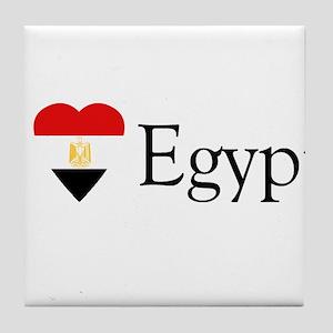 I Love Egypt Tile Coaster