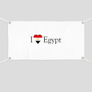 I Love Egypt Banner