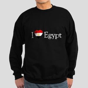 I Love Egypt Sweatshirt (dark)