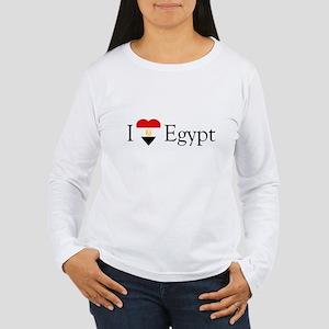 I Love Egypt Women's Long Sleeve T-Shirt