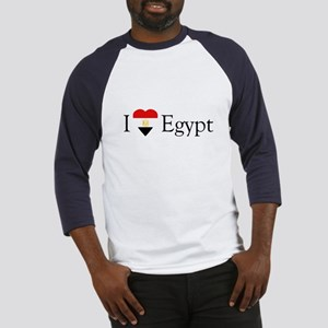 I Love Egypt Baseball Jersey