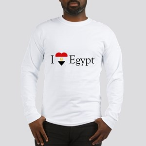 I Love Egypt Long Sleeve T-Shirt
