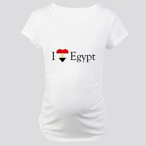 I Love Egypt Maternity T-Shirt