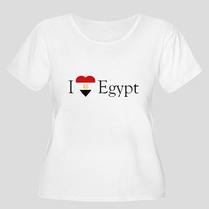 I Love Egypt Women's Plus Size Scoop Neck T-Shirt