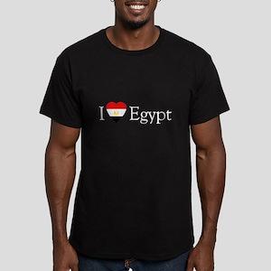 I Love Egypt Men's Fitted T-Shirt (dark)