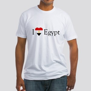 I Love Egypt Fitted T-Shirt