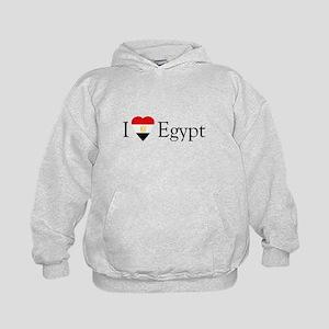 I Love Egypt Kids Hoodie