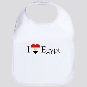 I Love Egypt Bib