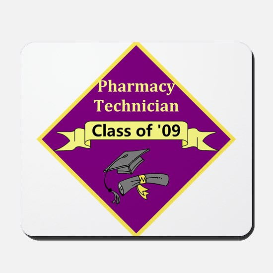 Pharmacy Tech Grad Mousepad