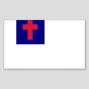 Christian Rectangle Sticker