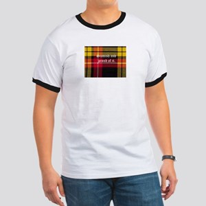 scottish tartan Ringer T