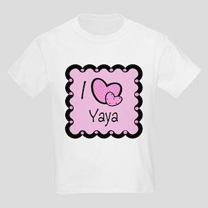 I Love YaYa Kids Light T-Shirt