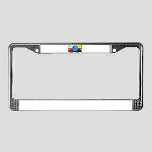 GlobalHumanFlag License Plate Frame