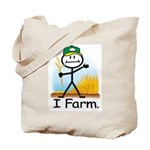 Wheat Farmer Tote Bag