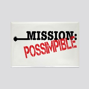 Mission Possimpible Rectangle Magnet