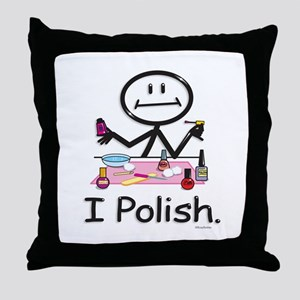 Manicurist Throw Pillow