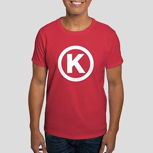 Letter K Dark T-Shirt