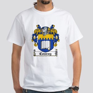 Conroy Coat of Arms White T-Shirt