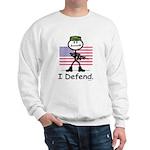 BusyBodies US Military Sweatshirt
