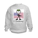 BusyBodies US Military Kids Sweatshirt