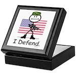 BusyBodies US Military Keepsake Box