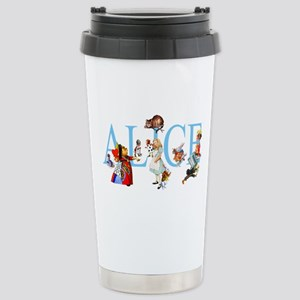 ALICE & FRIENDS Stainless Steel Travel Mug