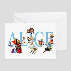 ALICE & FRIENDS Greeting Card