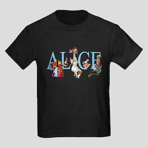 ALICE & FRIENDS Kids Dark T-Shirt