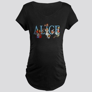 ALICE & FRIENDS Maternity Dark T-Shirt
