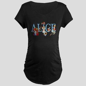 ALICE & FRIENDS Maternity Dark T-Shirt