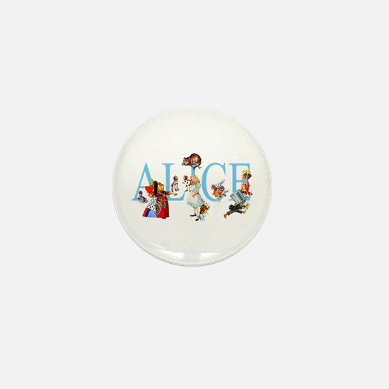 ALICE & FRIENDS Mini Button