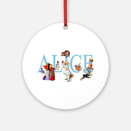 ALICE & FRIENDS Ornament (Round)