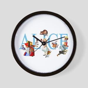 ALICE & FRIENDS Wall Clock