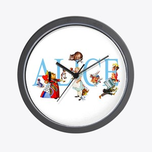 ALICE & FRIENDS Wall Clock