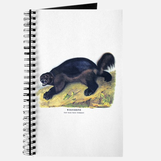 Audubon Wolverine Animal Journal