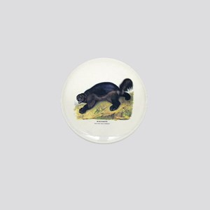 Audubon Wolverine Animal Mini Button