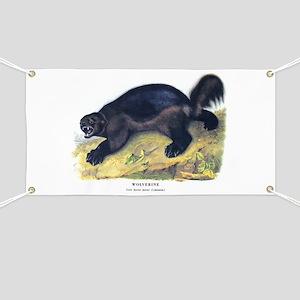 Audubon Wolverine Animal Banner