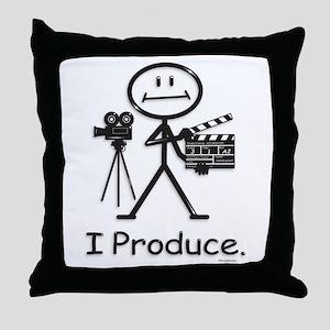Producer Throw Pillow