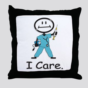 BusyBodies Nurse Throw Pillow