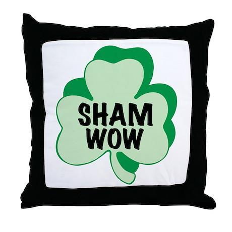 Sham Wow Throw Pillow
