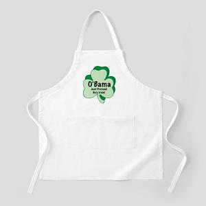 O'Bama: Just Pretend He's Irish BBQ Apron