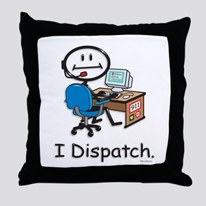 BusyBodies Police/Fire Dispatcher Throw Pillow