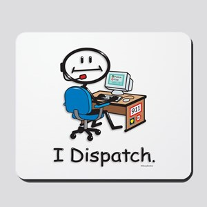 BusyBodies Police/Fire Dispatcher Mousepad