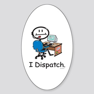 BusyBodies Police/Fire Dispatcher Oval Sticker