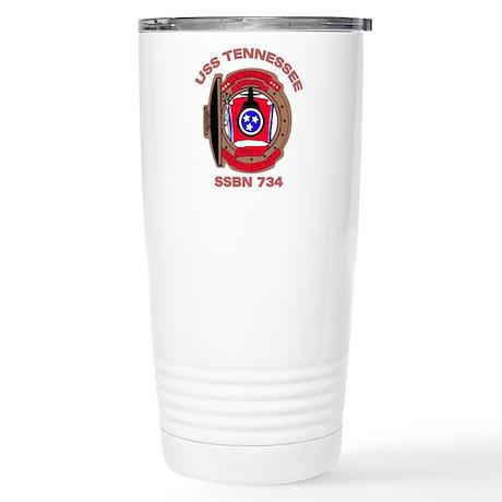 USS Tennessee SSBN 734 Stainless Steel Travel Mug