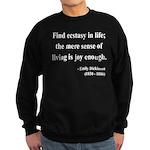 Emily Dickinson 20 Sweatshirt (dark)
