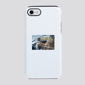 Driving Cat iPhone 7 Tough Case
