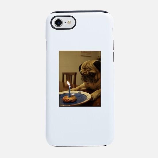 Happy Birthday Pug iPhone 7 Tough Case