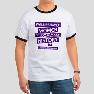 WELL-BEHAVED WOMEN Ringer T